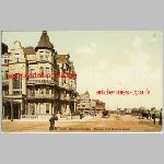 East Sussex Bexhill on Sea Sackville Hotel vintage postcard